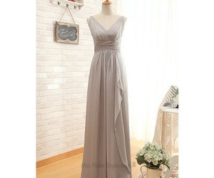 bridesmaid dress, dress, and gown image