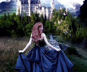 castle, fantasy, and princess image