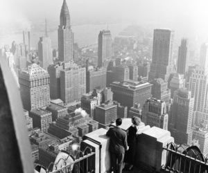 new york and vintage image