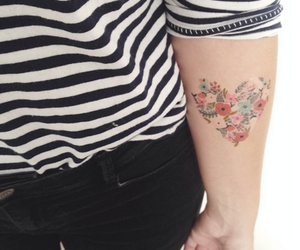 tattoo, girl, and vintage image