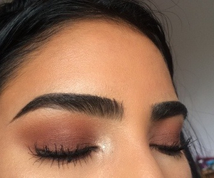 beauty, brows, and eyebrows image