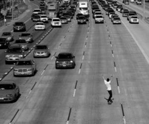 car, skate, and boy image