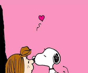 kiss and snoopy image