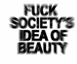 beauty, fuck, and grunge image