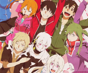 anime and mekaku city actors image