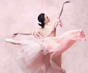 ballet, pink, and ballerina image