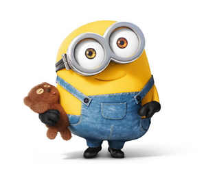 minions, bob, and yellow image