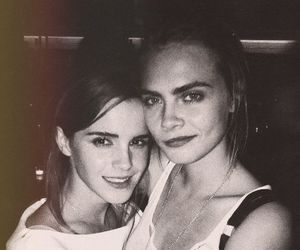 emma watson, cara delevingne, and model image