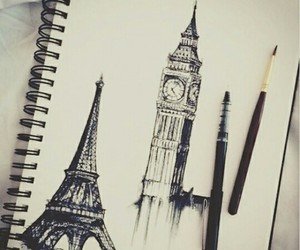 paris, london, and drawing image