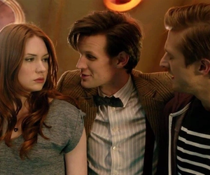 doctor who, amy pond, and rory williams image