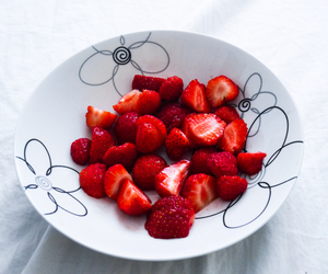 berries, healthy, and red image