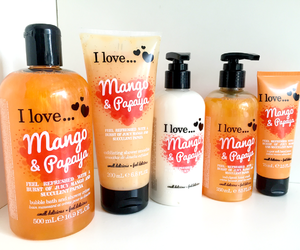 bath, mango, and love image