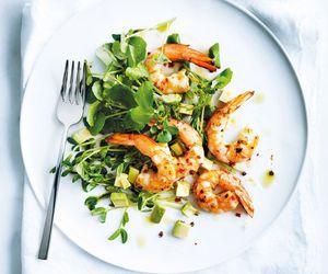 avocado, prawn, and shrimp image