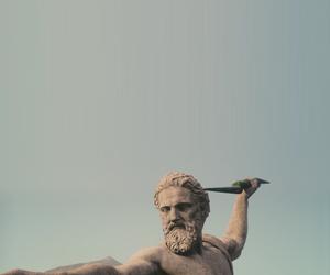 Zeus and statue image