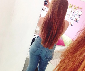 ginger, longhair, and redhead image