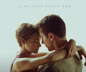 four, tris, and Shailene Woodley image