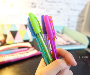 awesome, colour, and pens image