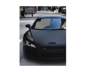 audi, black, and cars image
