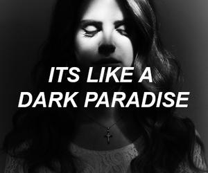 lana del rey, dark, and grunge image