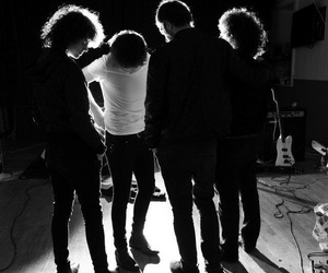 black and white, music, and catfish and the bottlemen image