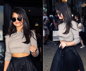 black skirt, candid, and candids image