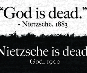 god and nietzsche image