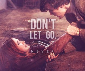 doctor who, amy pond, and the doctor image