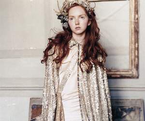 Lily Cole and model image
