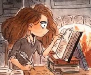 books, pretty, and drawings image