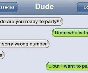 funny, party, and text image