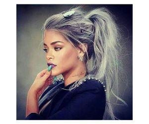 rihanna and hair image