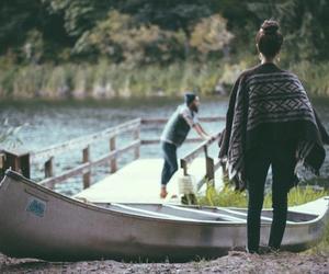 indie, lake, and vintage image