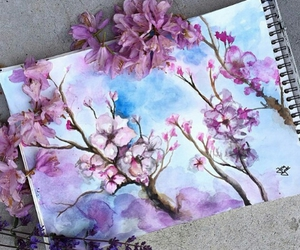 flowers, Great!, and lilac image