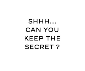 secret and keep image