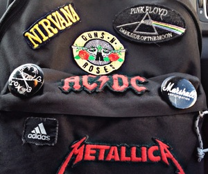 ac dc, bands, and black image