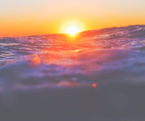bright, filter, and ocean image