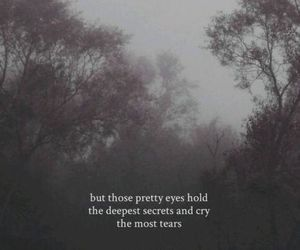 sad, quotes, and tears image