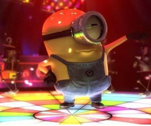 minions and dance image