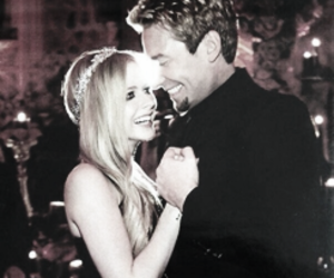 Avril Lavigne and chad kroeger image