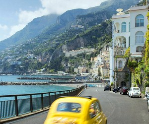travel, italy, and car image