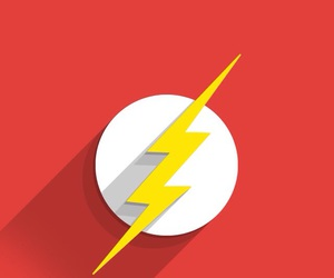 flash, red, and superhero image
