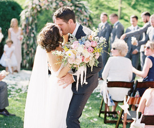 happiness, couple, and groom image