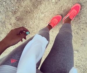 adidas, fashion, and fitness image