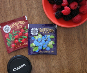 berry, blueberry, and canon image