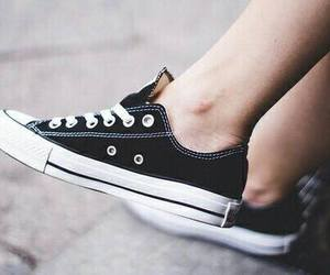 black, style, and converse image