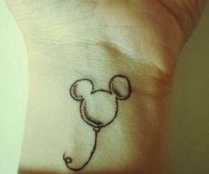 tattoo, disney, and mickey image