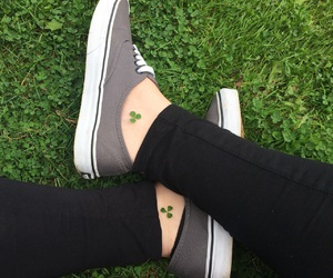 clover, green, and lucky image