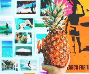pineapple, summer, and tumblr image