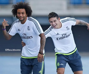 football, hala madrid, and marcelo vieira image