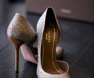 design, gucci, and high heels image
